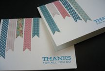 Thank You Cards / by Sue Richardson