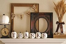 Fall & Christmas frame ideas / by Andrea Lyons Sooter
