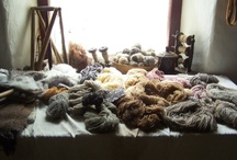Processing wool / by Vladka Cepakova