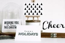 christmas // lovely christmas cards / by Rachel Dallaire