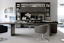 Home office /  Darbo kambarys / by HOME INTERIOR DESIGN IDEAS magazine