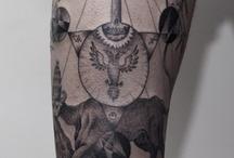 Ink & piercings / by Mia van den Heever