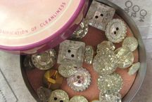 Button Love / Have always loved pretty buttons! To me, they're an art form. / by Cindy Adkins