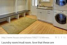 Utility / Mud room / by Amanda David