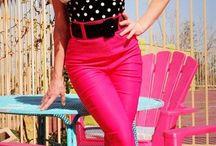 Rockabilly & Pinup Dolls fashion!!  / by Rosealie Rosie Roybal