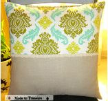cushions and pillows / Perfect set of cushions/cushion cover for home decor / by Nima Titus