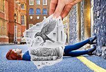 cool artwork / by Enigmatic Entity