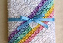 crochet baby blankets / by Valerie Bowen