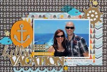 layouts  for vacation. / by Leann Lindeman