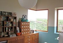 Craft room ideas / by Linda Richards