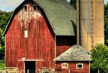 Barns, Farmhouses, Country Roads / by Brendaze = )