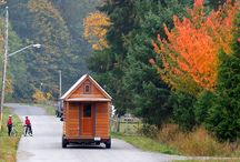 Tiny Houses / Living Simply in Small Spaces / by Tiny House Blog with Kent Griswold