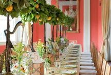 <Event> florals and tables  / floral ideas for various events  / by Julia Erratt
