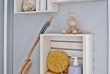 cool/easy storage ideas / by Karen Buck