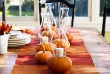 Fall decorating / by Pamela Garrett