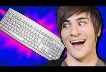 Tubestars / This board will feature the latest hilarious videos from the Youtube stars we all love. Such as MysteryGuitarMan, NigaHiga, realannoyingorange, Smosh, and others. / by Cynthia Kelly