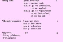 Interesting Workouts / I don't have a gym membership, but I do have a treadmill, resistance band, balance ball and a yoga mat.  Looking for great workouts to do at home. / by Jennifer Nye