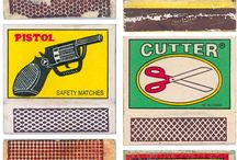 vintage matchbox labels / by Eleftheria Alexandri