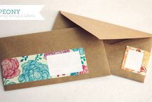 Mailing Labels, Envelopes and Postage / by Kathy McGraw
