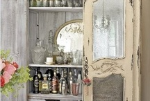 Armoire Painting Inspiration / How to paint my Armoire?  / by Christine Baker