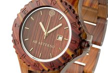 AB AETERNO WOODEN WATCHES / Each watch from the collection AB AETERNO is Handmade in Italy from 100% natural wood and has a unique natural print due to the infinite shades of the wooden grain. Finally, this wooden and modern watch collection makes versatility its best weapon; streetwear, casual, sporty and elegance are all different interpretations of the same, wider concept of fashion. Shop Them at WWW.FINAEST.COM / by FINAEST.COM