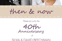 50th Wedding party ideas / by Christine Reeves