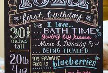First birthday / by Melanie Monroe