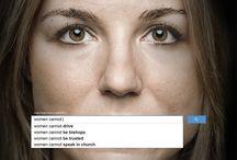 UN Women ad series #womenshould / Ad series developed for UN Women by Ogilvy & Mather Dubai / by UN Women
