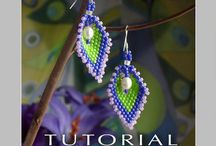beaded earrings / by beth bonneville