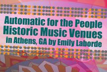 Music trail thesis / gettin organized :) / by Emily Laborde Hines | Em's on the Road
