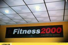 Gimnasio fitness2000 / by LEDILUX Iluminación