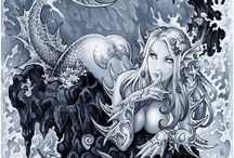 mermaid / by véronique Coquille