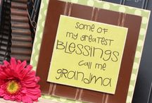 Mother's Day & Father's Day Crafts and Ideas / by Thoughts in Vinyl = Wood Letters and Crafts and Vinyl Lettering