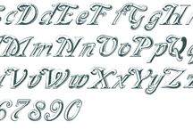 Fonts / by Jeannette