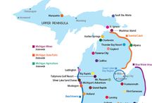 Michigan Travel / Ideas for year round activities in BEAUTIFUL Michigan.   / by Liberty Starkweather