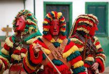 Caretos de Podence, Portugal - Traditional Masks / by João Caravaca