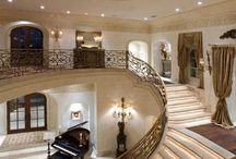 Staircase For A Queen / Walk down the stairs like Miss America / by Alexandria Walker