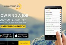 Careesma.in Mobile App / Now find a job anytime and anywhere with the Careesma Mobile App. / by Careesma.in India