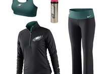 Locker Room Looks / Rock some #Eagles gear when you're hitting the gym as hard as the team. Check out the latest performance gear from Eagles Pro Shop. / by Philadelphia Eagles
