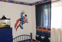 Boys Rooms / Creative decorating and design ideas for boys' bedrooms, including some of the re-decorating I have done in my own boys' rooms. Our favorites: superheroes, and autos and airplanes. / by Rachel @ Creative Homemaking
