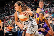 WNBA Silver Stars / by Barbara Fink
