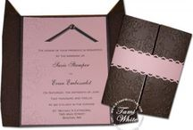 Stampin' Up! Wedding Invitations / Do it Yourself - Create your own Wedding invitations / by Tami White