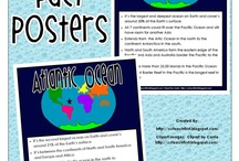 Continents and Oceans unit / by Christine Greiman Budach