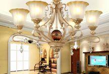 pendant lamp / by bedding inn