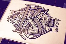 Lettering inspiration / by Jasmine Perfect