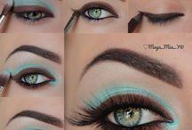 Me Inspiran Estos Maquillajes Ya Que Me Encanta Estar Inventando / by Paola M. Cruz Zayas