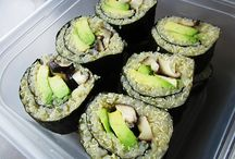 Recipes, Sushi / by Christina Anderson