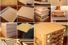 cajas / by Marcela Erika Orue