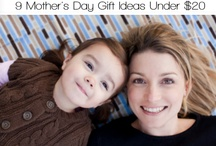 Mother's Day Gifts / Mother's Day is here and now's the time to make a gift. After all, Mom's love homemade gifts. Here are several gift ideas under $20! For more inspiration, check out our Mother's Day Gift Giving Guide: http://bit.ly/HP5Tdo / by Picaboo