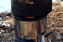 Biomass stoves / How to make and use biomass-fueled stoves. You'll never run out of material to fuel the stove and using a biomass stove is better for the environment, air quality and the weight of your backpack / by Leon Pantenburg